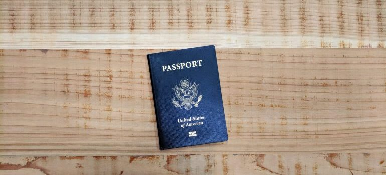 Passport is one of the Items you shouldn't put in moving trucks