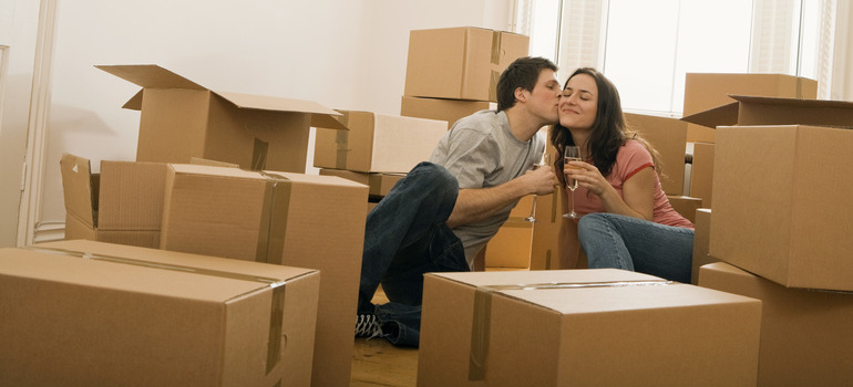 People after they have moved with the help of international movers to Australia