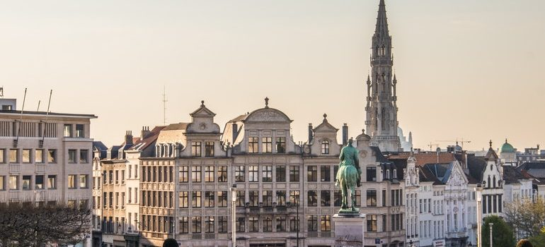 View of Brussels that you'll enjoy after moving from USA to Belgium.