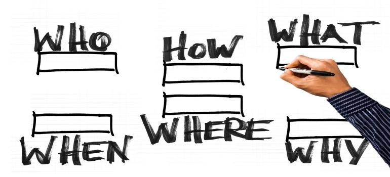 question boxes