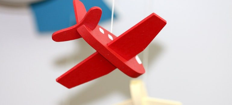 Miniature of a plane.