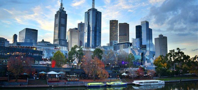 Melbourne's landscape.