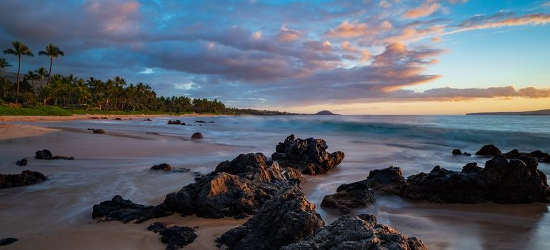 Hawaii beach.
