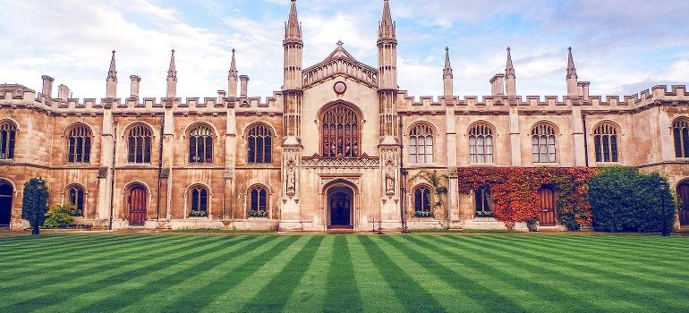 Cambridge main building