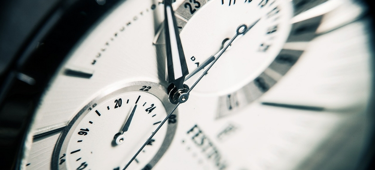 watch closeup
