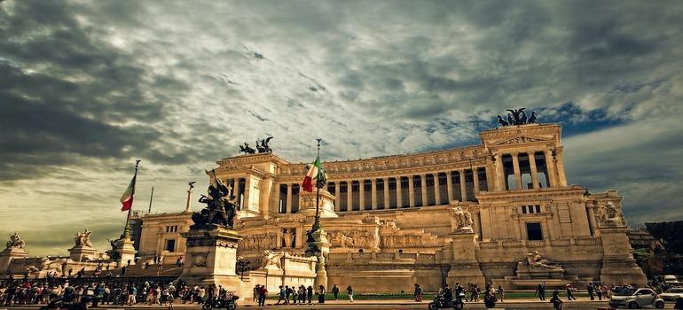 The palace of vittorio-emanuele