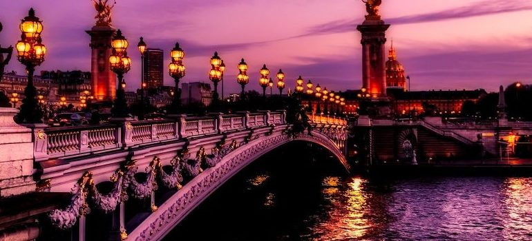 Paris France, bridge