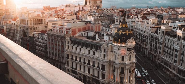 Madrid at dawn