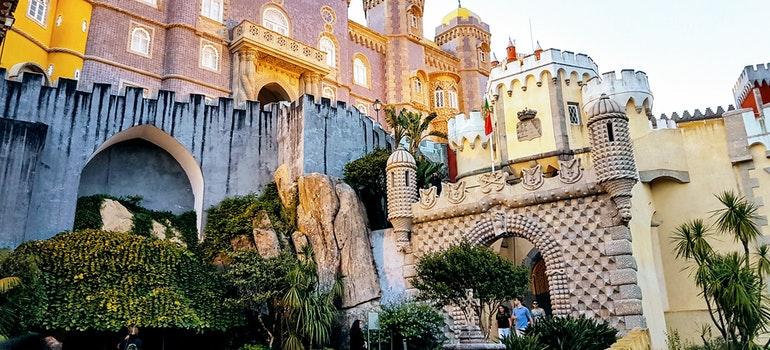 Castles in Sintra, Portugal