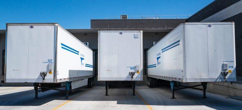 3 cargo trucks