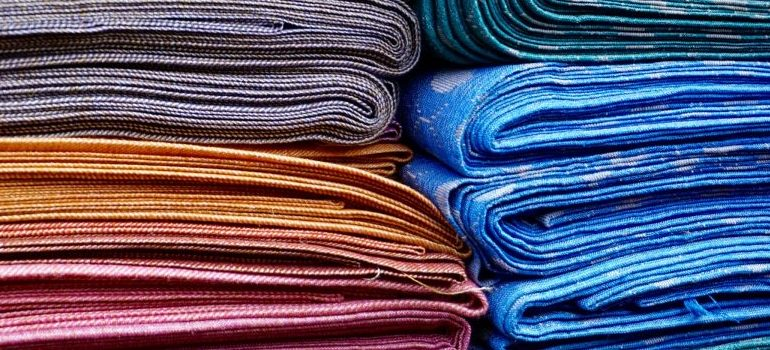 pile of colorful sheets