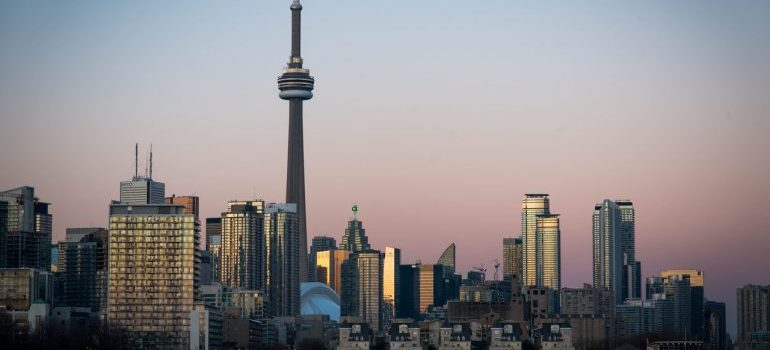 a view of Toronto as a symbol of moving from Alberta to Ontario