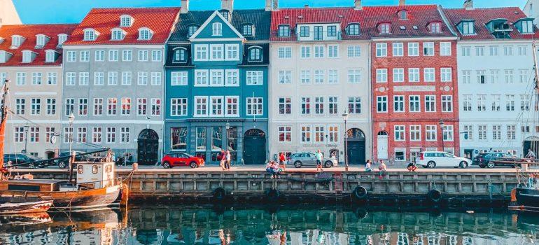 a canal in Denmark