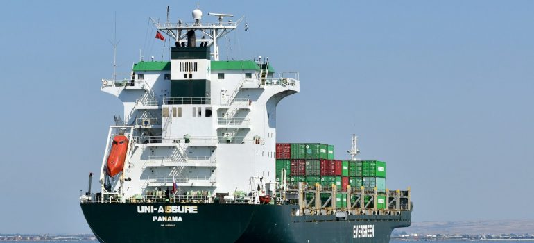 sea freight to save money on an international move from NYC to Germany